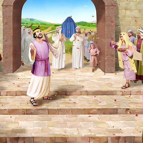 David and Saul to Rebuilding of Jerusalem's Walls