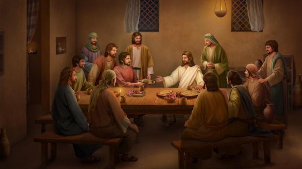 Jesus Eats Bread and Explains the Scriptures After His Resurrection