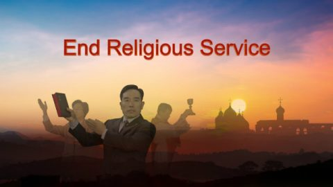 "God's Word ""End Religious Service"""