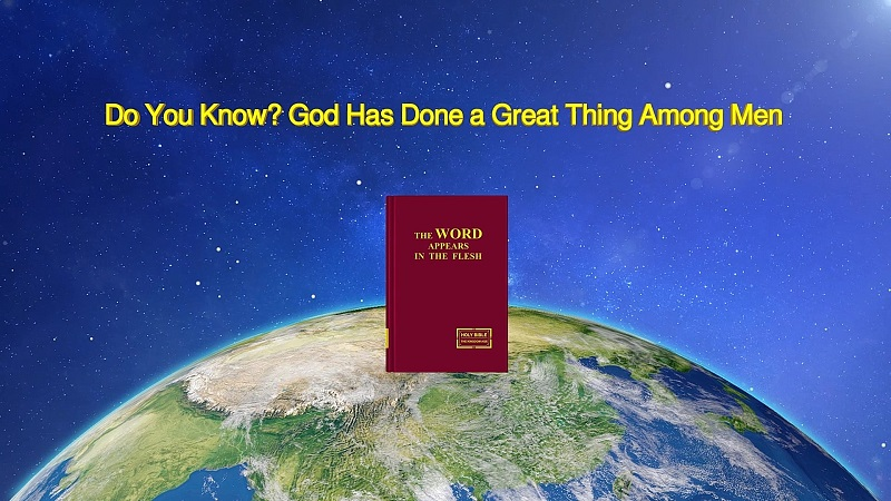 """God's Word """"Do You Know? God Has Done a Great Thing Among Men"""""""