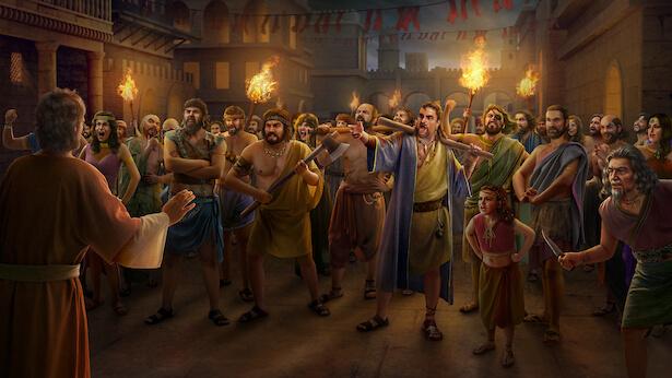 Sodom Is Utterly Annihilated for Offending God's Wrath