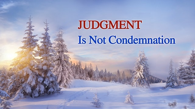 Judgment Is Not Condemnation-Following God