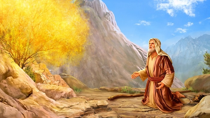 Bible story_Exodus-Moses called by God in Horeb