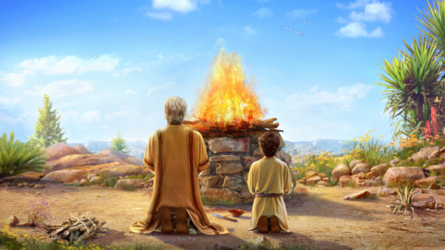 Abraham to Offer His Son Isaac
