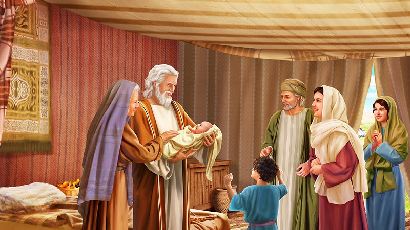 Bible story of Abraham: The Birth of Isaac