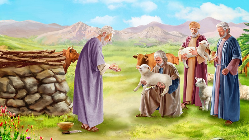 Job 42 - The Lord Rebukes Job's Friends