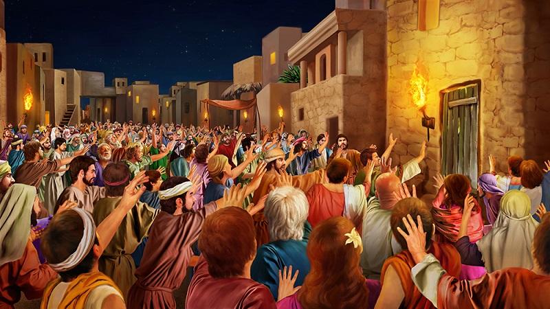 the men of Sodom blindness