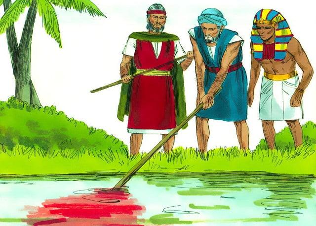 Exodus 7 - The First Plague: Blood