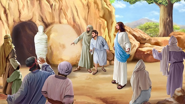 John 11: Jesus Brings Lazarus from Death to Life