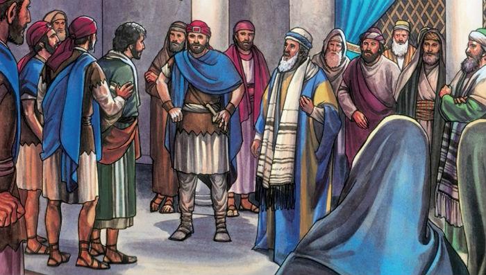 Matthew 26:57-68 – Jesus Before the Sanhedrin