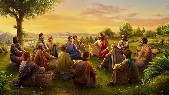 The Mysteries and Wisdom of Jesus' Work Among Man in an Ordinary Image