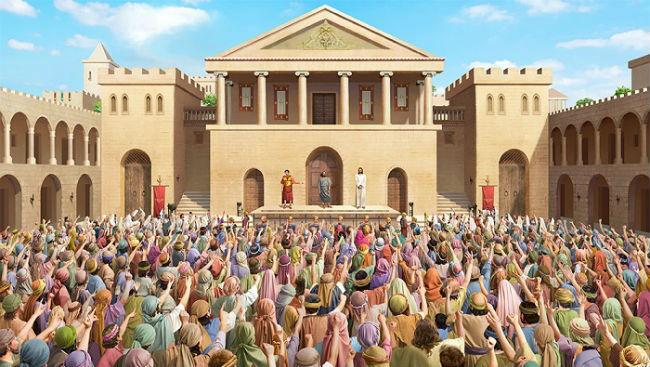 Matthew 27 – The Public Trial of Jesus by Pilate