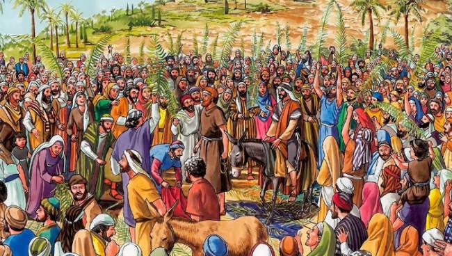 The Lord Jesus' Triumphal Entry into Jerusalem – Bible Story