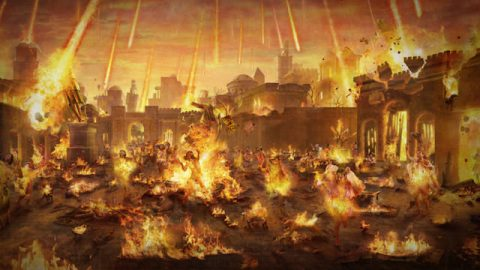 God Razed Sodom With Fire. A Commentary on Genesis 19:24–25