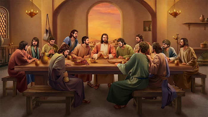 the last supper,Matthew,Jesus story