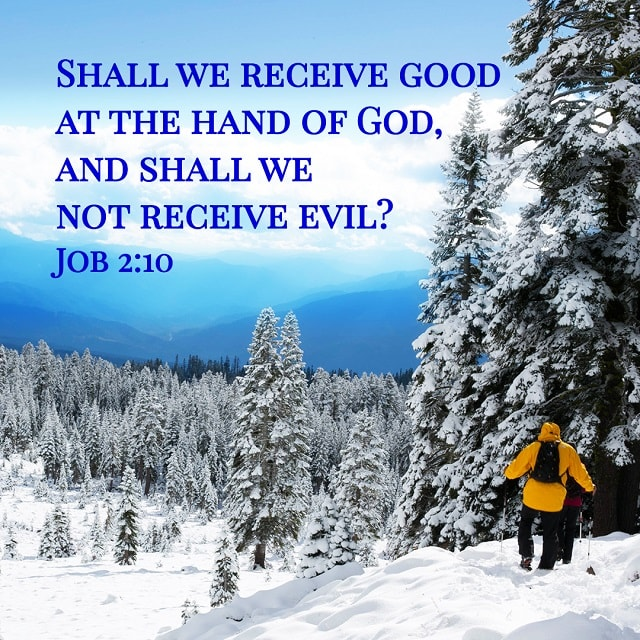 Receiving Good and Evil from God's Hand — Job 2:10