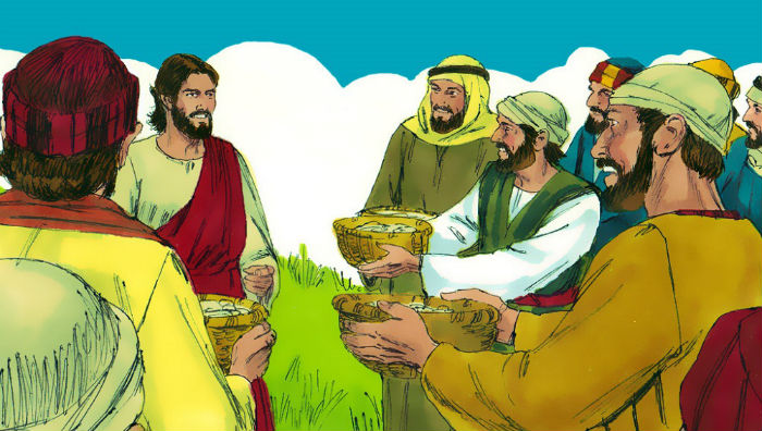 The Feeding of the Five Thousand - Bible Story