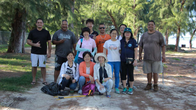 Christians of The Church of Almighty God Do Something for the Protection of the Natural Environment in Saipan
