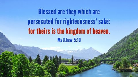 8 Bible Verses About Persecution-Road to the Heavenly Kingdom