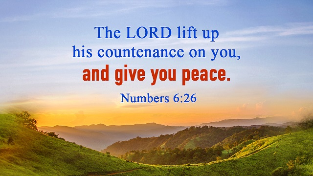 Bible Verses About Peace - The Peace That Only God Can Give