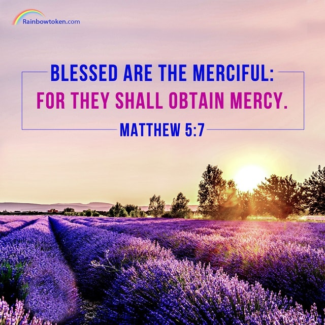 Blessed are the merciful - Matthew 5-7