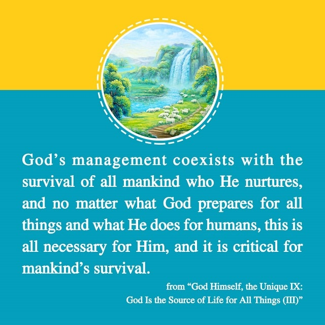 God prepares for all things