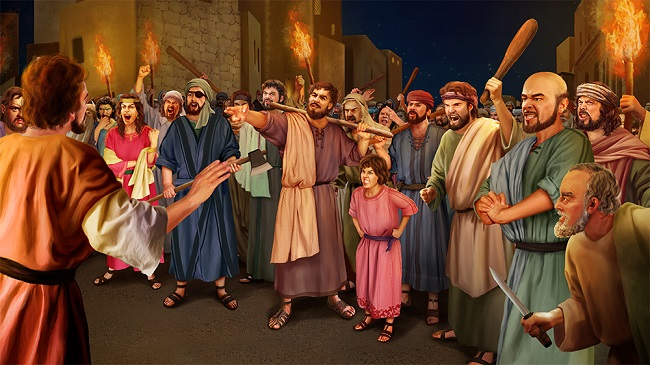 The people in Sodom