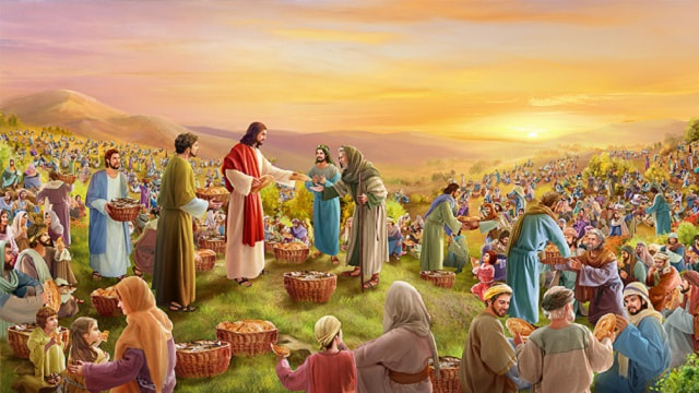 John 6:8-13: Jesus Feeds the 5000