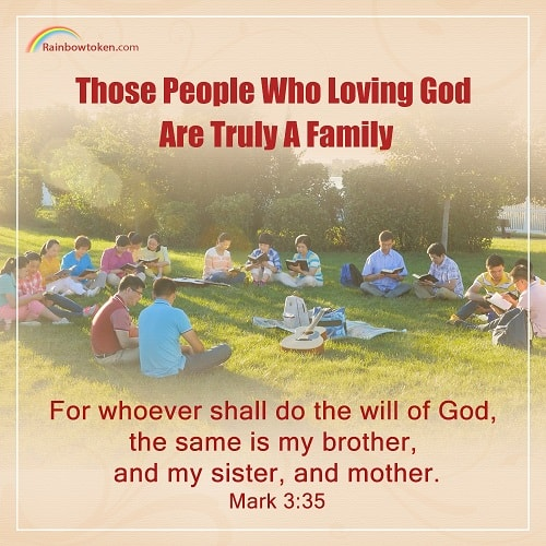 Bible Verse of the Day Mark 3:35 - Do the Will of God