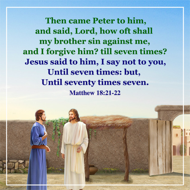 Image result for matthew 18:21-22