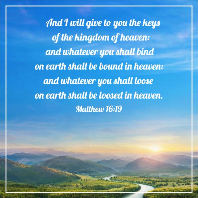 The Keys of the Kingdom of Heaven — Matthew 16:19