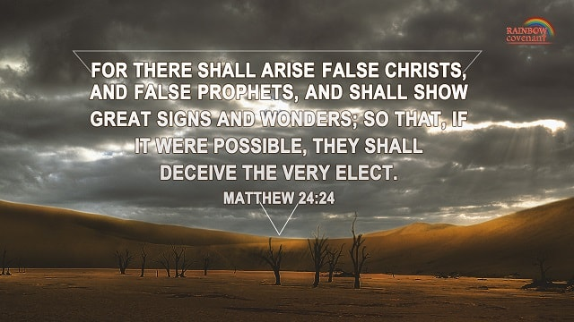 Bible Verses, Distinguish the True Christ From the False Ones