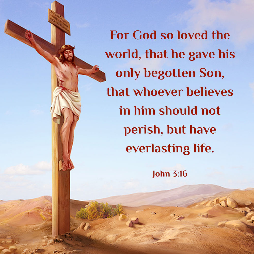 John 3:16 - Whoever Believes in Him Should not Perish ...