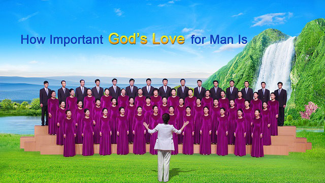 """Choir """"How Important God's Love for Man"""" Is Poster"""