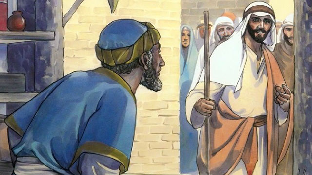 Jesus Calls Matthew - bible story