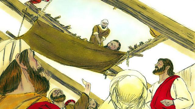 Jesus Heals a Paralytic Matthew 9 1-8