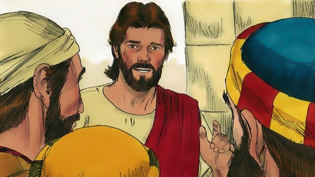 Matthew 19 - Jesus to his disciples
