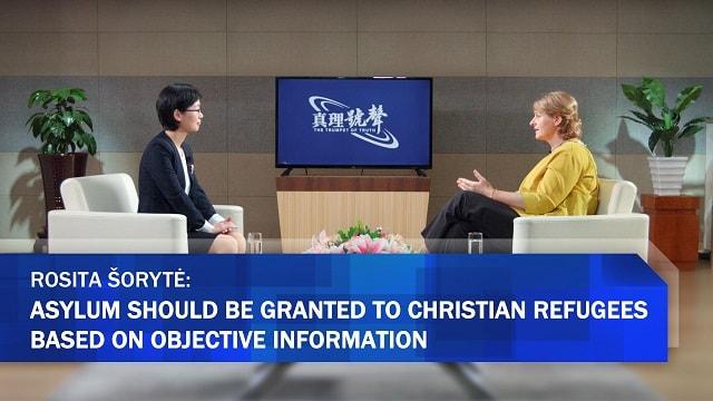 Rosita Šorytė,Asylum Should be Granted to Christian Refugees