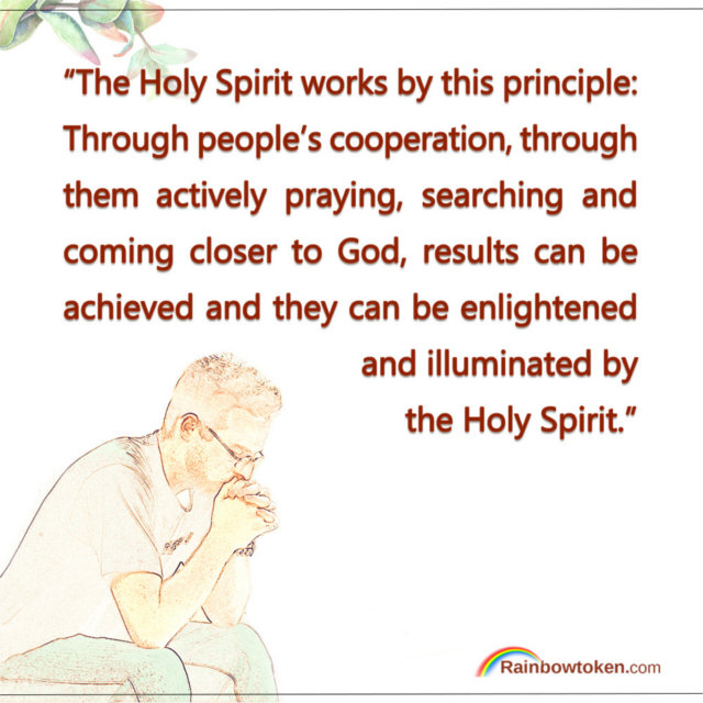 The Principle of the Holy Spirit's Work