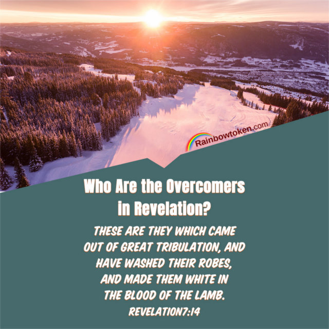 Who Are the Overcomers in Revelation — Rev 7:14