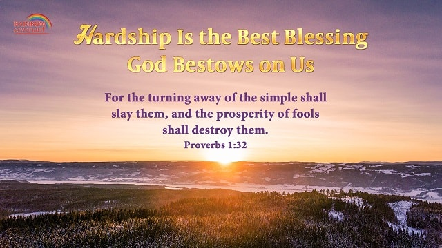 Bible Verse of the Day: Proverbs 1:32 - The Value of Hardships