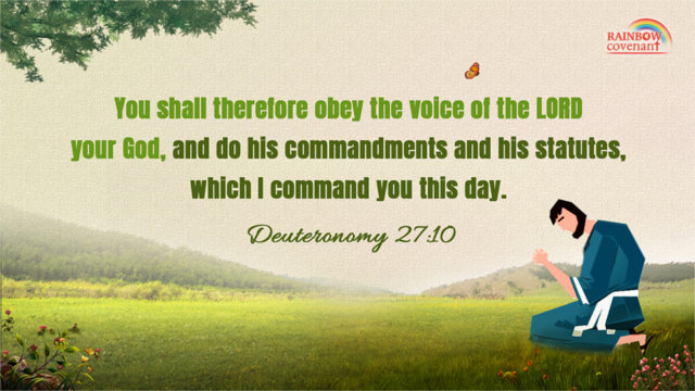 Do His Commandments and His Statutes — Deuteronomy 27:10