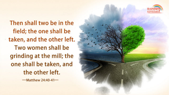 One Shall be Taken, and the Other Left — Matthew 24:40-41