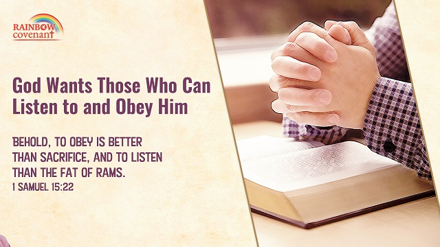 1 Samuel 15:22 – Obedience to God