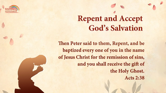 Acts 2:38 - Repent and Accept God's Salvation - Bible Verse of the Day