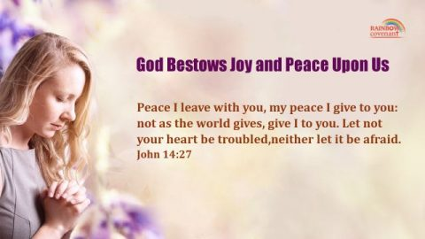 John 14:27 - God Bestows Joy and Peace Upon Us