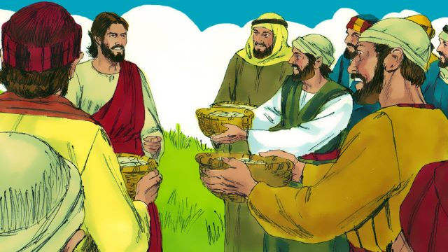 Jesus Christ, Miracle of the Bread and Fish, Jesus Feeds the Five Thousand