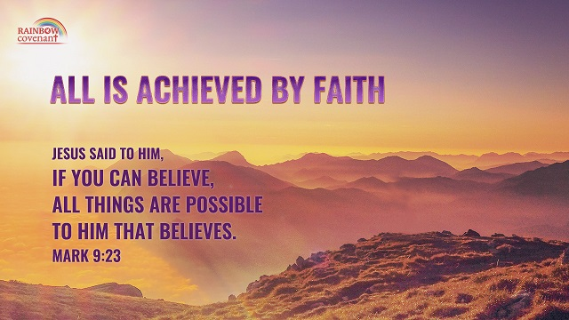 Mark 9 23 - All Things Are Possible If You Believe - bible verse of the day