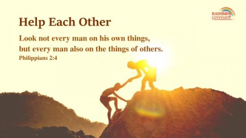 Philippians 2:4 - Help Each Other