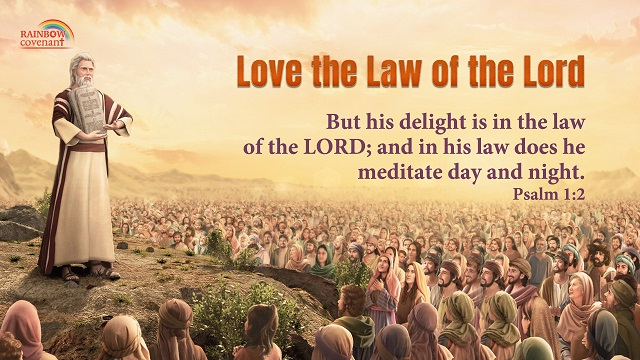 Psalms 1:2 - Delight in the Law of the Lord - bible verse of the day